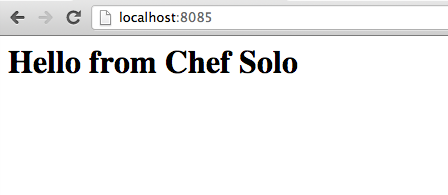 Getting Started with Chef Solo  Part 2